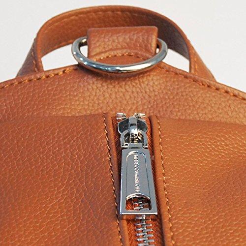 Moda Casuale Sacchetti Delle Signore Il Cuoio Dell'unità Di Elaborazione Borsa A Tracolla Orange