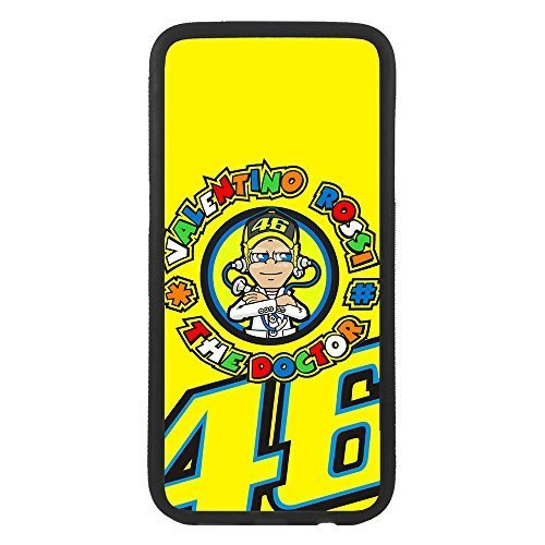 custom-cases Custodia Cover in TPU para Todos i cellulari con Progettazione di Valentino Rossi The Doctor - Samsung S6 Edge Plus