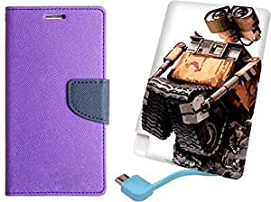 APE Diary Cover and Printed Power Bank for LG Google Nexus 5