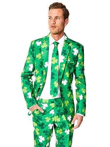 s Amerika Anzug Suitmeister Slimline Economy 3-teilig Gr. M (Stars And Stripes Anzug)