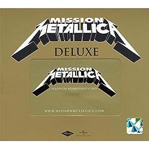 Death Magnetic Vorbestellbox mit Mission Metallica Zugangscode und Vor-Reservierung der Limited Deluxe Edition