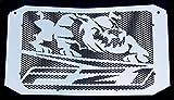 Heizkörper-Abdeckung, Heizungsgitter, 1000 FZ1 und FZ1 Fazer 2006 >2015, Design Bulldogge, Aluminium