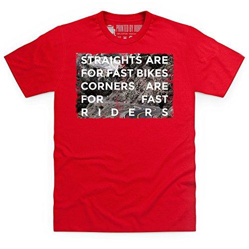 Fast Riders T-Shirt, Herren Rot