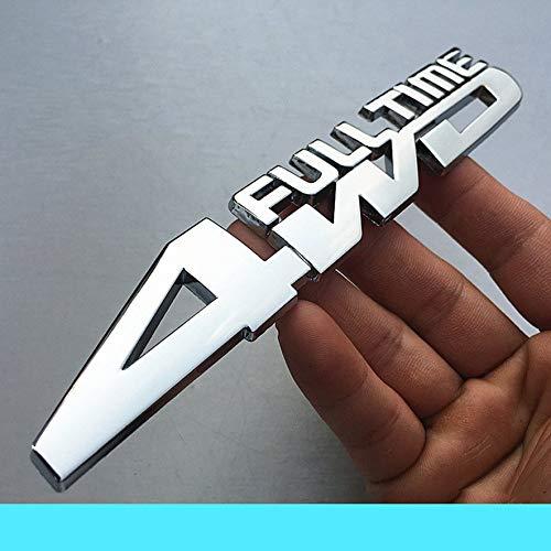 8Eninite Trazione Integrale in Metallo 4WD Full Time Logo Auto per Tutti i Tipi di Auto ()