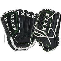 """Vale la Pena SHUTOUT serie guante de béisbol, 12,5"""" - SO1250-0/3, Negro"""
