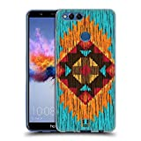Head Case Designs Flamme Holz Tribal Muster Soft Gel Hülle für Huawei Honor 7X