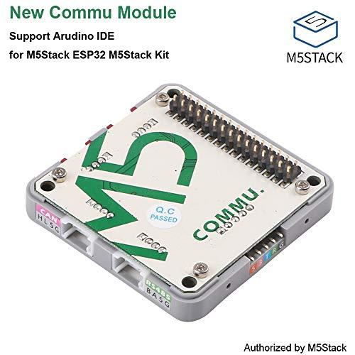 MakerHawk M5Stack COMMU Modul, integriert mit 2IIC, 1TTL, 1CAN, 1RS485 Port, MCP2515-1/SO CAN-Controller und SP3485EN-L/TR RS485 Transceiver unterstützt Arudino IDE für M5Stack ESP32 M5Stack Kit (Zuordnung Die Board)