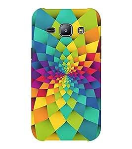 EPICCASE 3D Abstract Mobile Back Case Cover For Samsung J1 Ace (Designer Case)