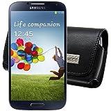 Original MTT Quertasche fuer / Samsung Galaxy S4 (i9505) S IV / Horizontal Tasche Ledertasche Handytasche Etui mit Clip und Sicherheitsschlaufe*