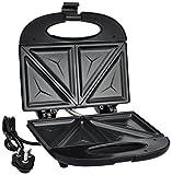 Prestige PSMFB 800 Watt Sandwich Toaster with Fixed Plates, Black