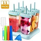 Gifort Eisform BPA Frei, 6-er Set Eisformen aus Hochwertiges PP-Material + 3-er...