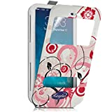 Seluxion - Etui Coque Silicone S-View Motif HF30 Universel S pour Bouygues Telecom Bs 403