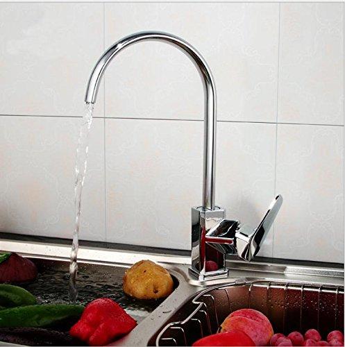 vanme NUOVA verticale lavello rubinetto caldo e freddo rubinetto singolo foro cast-brass cucina rubinetto lavabo rubinetto - Alta Pressione Kit Mist