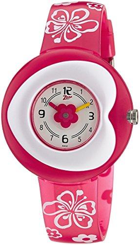 Zoop Analog White Dial Children's Watch -NKC4007PP01