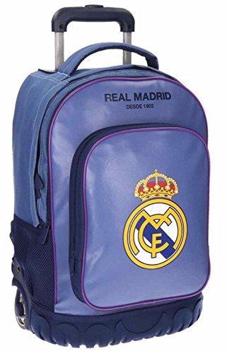 Maleta Juvenil Compact Real Madrid Campus azul