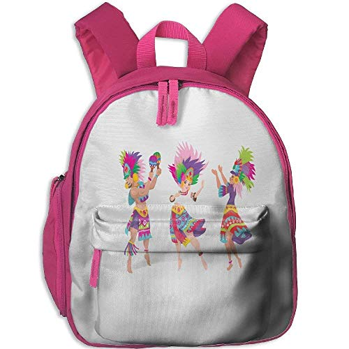 Funny Schoolbag Backpack Sinulog Dancer Toddler Kids Pre School Bag Cute 3D Print Children School Backpack