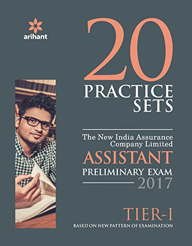 20 Practice Set - The New India Assurance Assistant Pre Tier-I 2017