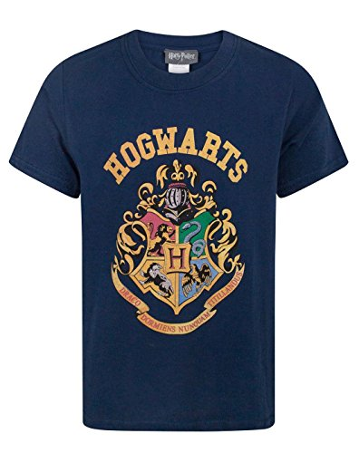 Harry Potter Hogwarts Crest Boy\'s T-Shirt (5-6 Years)