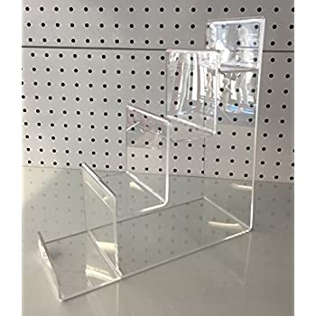 ex large 4 tier acrylic stand retail display stand 26 cm high hand bagpurse retail fashion display - Bathroom Accessories Display