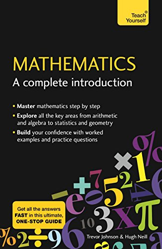 Mathematics a complete introduction the easy way to learn maths mathematics a complete introduction the easy way to learn maths teach yourself fandeluxe Image collections