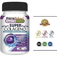 SUPER COLÁGENO – Potente Colágeno Hidrolizado Peptán + Bambú + Magnesio + Calcio + Vitaminas C