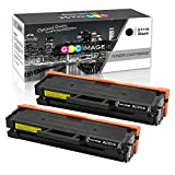 GPC Image Kompatibel Toner Patronen für Samsung D111S MLT-D111S (2 Schwarz) für Samsung Xpress SL M2070FW M2026W M2070W M2026 M2022W M2070 M2022 M2020 M2020W M2021 M2071 M2070F M2071FH M2021W M2071W