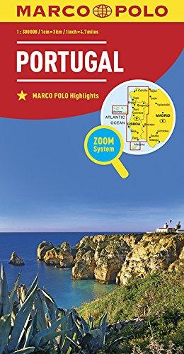 MARCO POLO Länderkarte Portugal 1:300 000: Wegenkaart 1:300 000 (MARCO POLO Länderkarten)