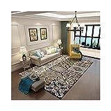 sanqi Laminat Teppich kibek Wohnzimmer kinderzimmer IKEA rund billiger Teppiche outdoorTreppenteppich Linoleumboden große gemusterter Teppichläufer schwarz weiß