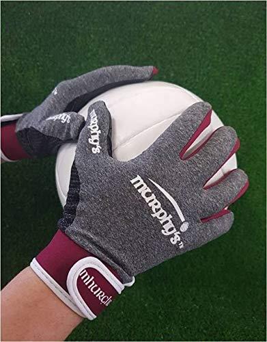Murphy's Gaelic Gloves - Youth - Grey/Maroon