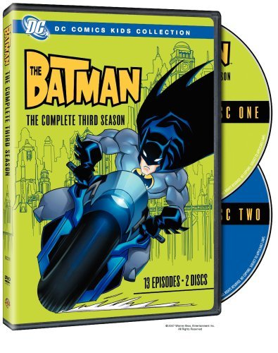 The Batman: The Complete Third Season (DC Comics Kids Collection) by Rino Romano Rino-serie