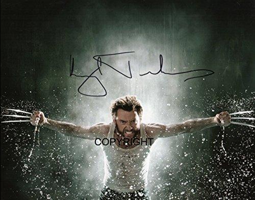 Edición limitada de Hugh Jackman Lobezno autografiada + certificado de autenticidad impreso