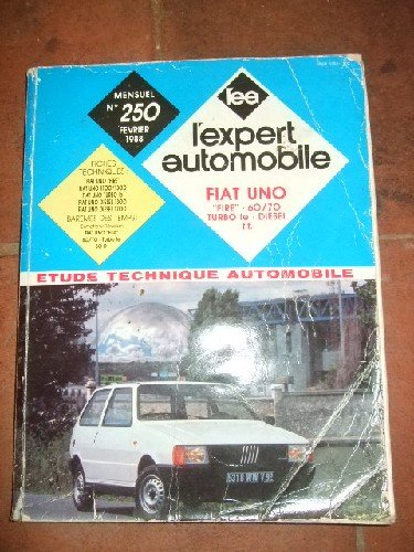 Revue technique automobile. Fiat Uno fire - 60/70 - Turbo Ie - Diesel t.t. Barème des temps