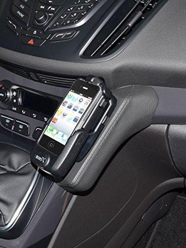 KUDA Telefonkonsole (LHD) für Ford Kuga ab 2013 Kunstleder schwarz