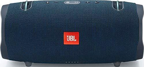 JBL Xtreme 2 Bluetooth-Lautsprecher Musikbox (Wasserdichter, portabler Stereo Bluetooth Speaker mit integrierter Powerbank, Mit nur einer Akku-Ladung bis zu 15 Stunden Musikgenuss) blau - Tragbar Bluetooth Ipad Lautsprecher