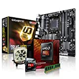 PC Aufrüstkit AMD, FX-8350 8x4.0 GHz, 8GB DDR3, Radeon HD3000-1GB, Mainboard Bundle, Tuning Kit, fertig montiert, Spiele Office zusammengestellt in Deutschland Desktop Rechner