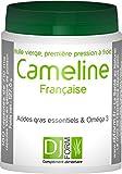 Huile de Cameline Française - Omega 3 végétal - Première pression à froid - Cultivée et pressée en France - 180 capsules