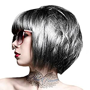Crazy Color Coloration Pour Cheveux Semi-Permanente 100ml (Gris Platinum)