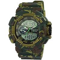 Maxima Analog-Digital Black Dial Men's Watch-42940PPAN