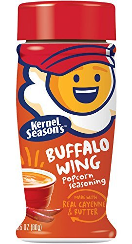 Kernel Season's Buffalo Wing Seasoning, 2.85 Ounce Shakers (Pack of 6) by Kernel Season's LLC [Foods] -