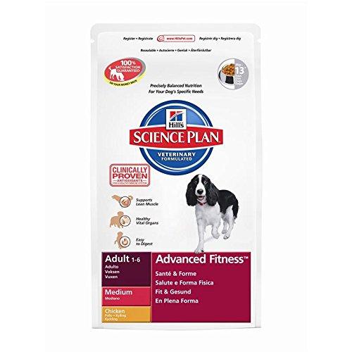 Hills Canine Adult mit Huhn 12kg, 1er Pack (1 x 12 kg Packung) - Hundefutter (Huhn Protein)
