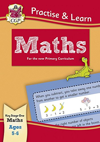 New Curriculum Practise & Learn: Maths for Ages 5-6 Cover Image