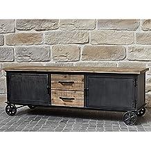Amazon.fr : meuble metal industriel tiroirs