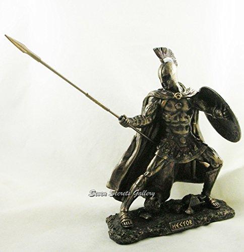 Seven Secrets Hector 'Champion Of Troy Griechischer Krieger Statue Figur Skulptur Ornament (Krieger-statue-figur)