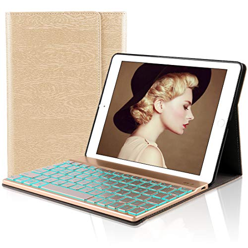 iPad 9.7 Tastiera Custodia, Dingrich iPad 9.7 2018/2017 iPad Pro 9.7 iPad Air 2/1 Tastiera Case Cover