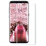Parsion Galaxy S9 Verre Trempé Film Protection écran Glass Screen Protector Vitre Tempered Pleine Couverture Inrayable 9H et Ultra Résistant Indice Dureté pour Samsung Galaxy S9