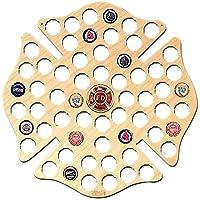 Bombero Cruz de Malta cerveza Cap mapa con medallón de color Funny Christams regalos 14.96 x
