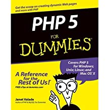[PHP 5 FOR DUMMIES] by (Author)Valade, Janet on May-07-04