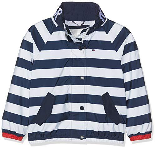 Tommy Hilfiger Essential Stripe Printed Jacket Chaqueta, Blanco (Bright White 123), 104...