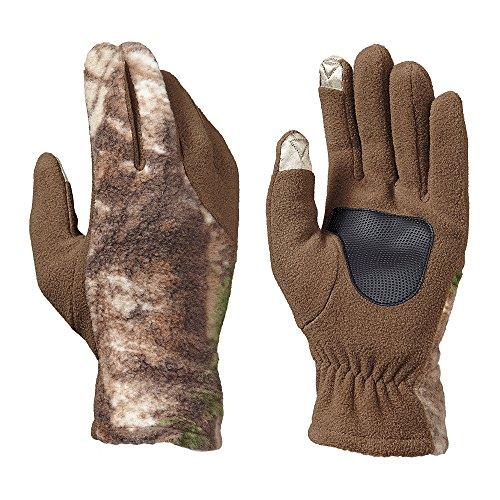 Hot Shot Herren Fleece Touch Shooters Handschuh, herren, RealTree Xtra, Medium