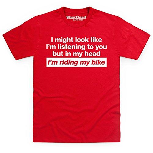 I'm Listening To You T-Shirt, Herren Rot